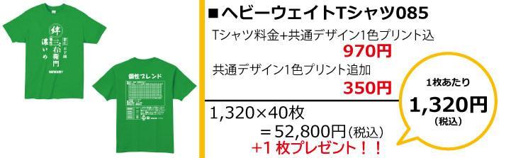 クラスTシャツ予算別画像1,500円085