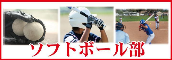 部活Tシャツソフトボール部デザイン