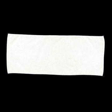 カラーフェイスタオル001.ホワイト