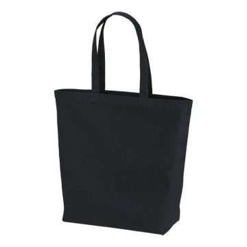 レギュラーキャンバストートバッグ(Lサイズ)002.ブラック