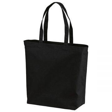 スタンダードキャンバストートバッグ(Lサイズ)002.ブラック