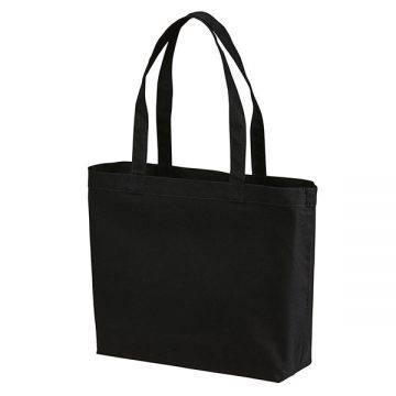 スタンダードキャンバストートバッグ(Wサイズ)002.ブラック