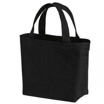 スタンダードキャンバストートバッグ(Sサイズ)002.ブラック
