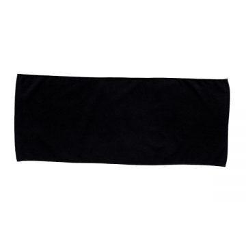 カラーフェイスタオル005.ブラック