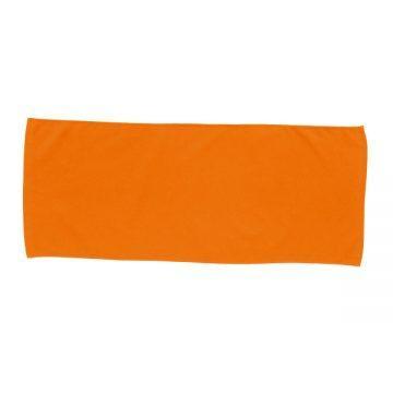 カラーフェイスタオル015.オレンジ