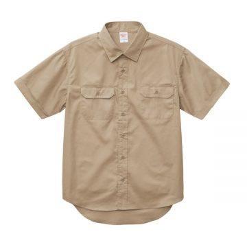 T/Cワークシャツ747.モカベージュ