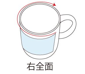 マグカッププリント位置右全面