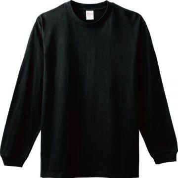 ヘビーウエイトLS- Tシャツ005.ブラック