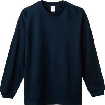 ヘビーウエイトLS- Tシャツ031.ネイビー