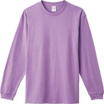 ヘビーウエイトLS- Tシャツ188.ライトパープル